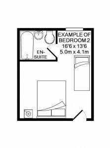 Crockwell 2's floorplan.