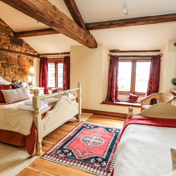 Dryden cottage, single or twin occupancy