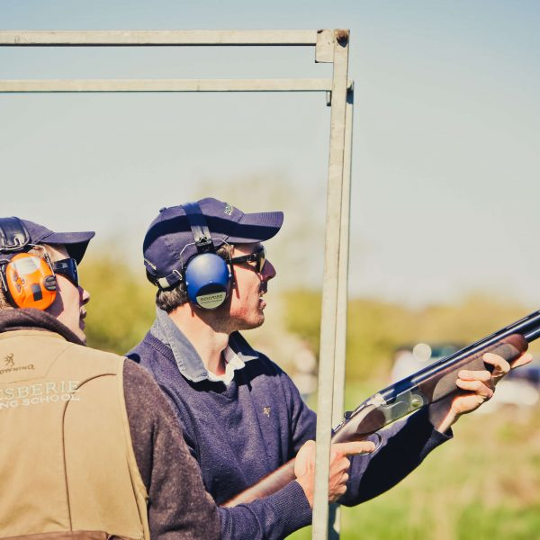 Clay pigeon shooting as a team building activity