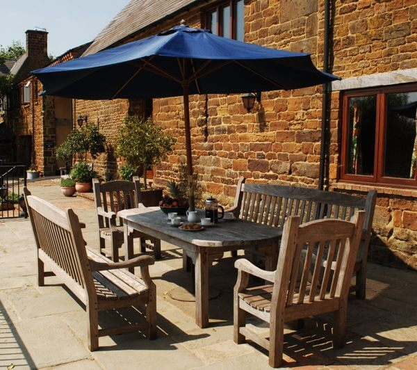 Enjoy lunch overlooking picturesque Northamptonshire